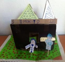 Atelier d'enfants en association avec Les CAUE