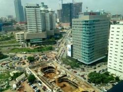 Luanda - construction de tour