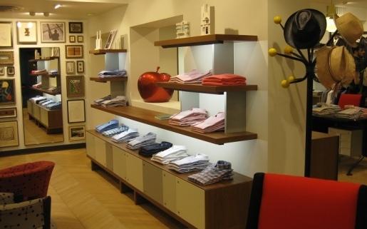 Paul Smith Ltd Raspail - aménagement boutique de luxe