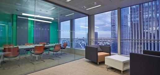 Réaménagement de bureaux à La Défense