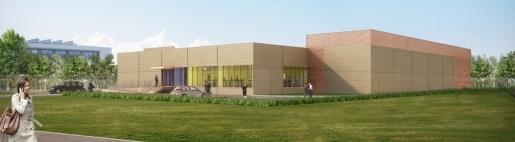 Suburban data center