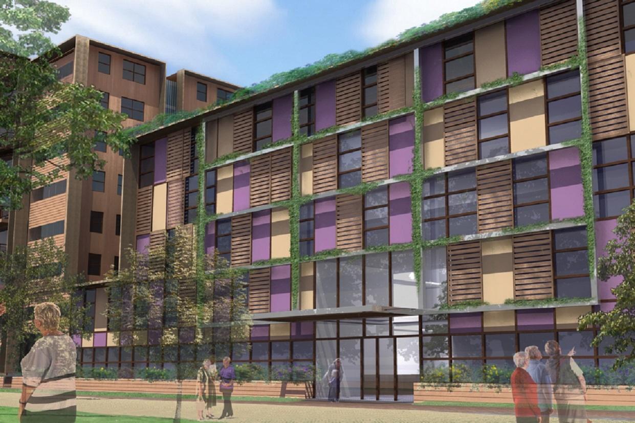 Hospital facade