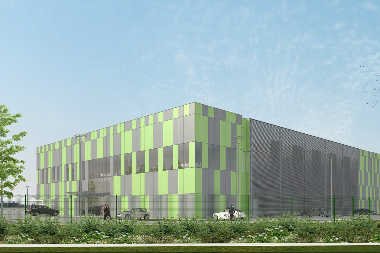 Dessin de Data Centre (Reid Brewin Architectes)